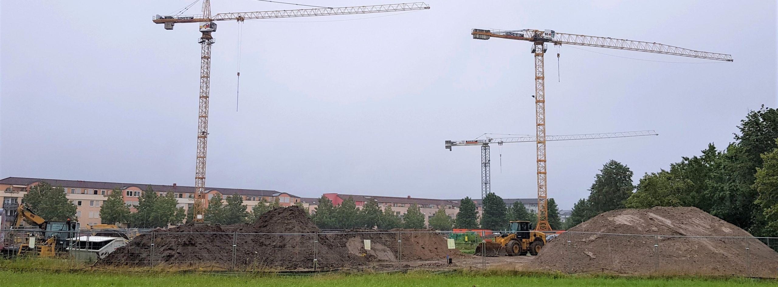 Baubeginn_Karlsruhe_VOLKSWOHNUNG GmbH_Wohnen_bezahlbarer Wohnraum_ Woerrishofferstraße