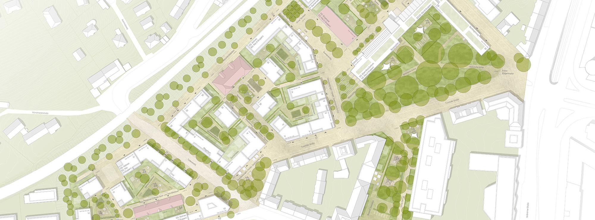 Stuttgart Bürgerhospital Lageplan