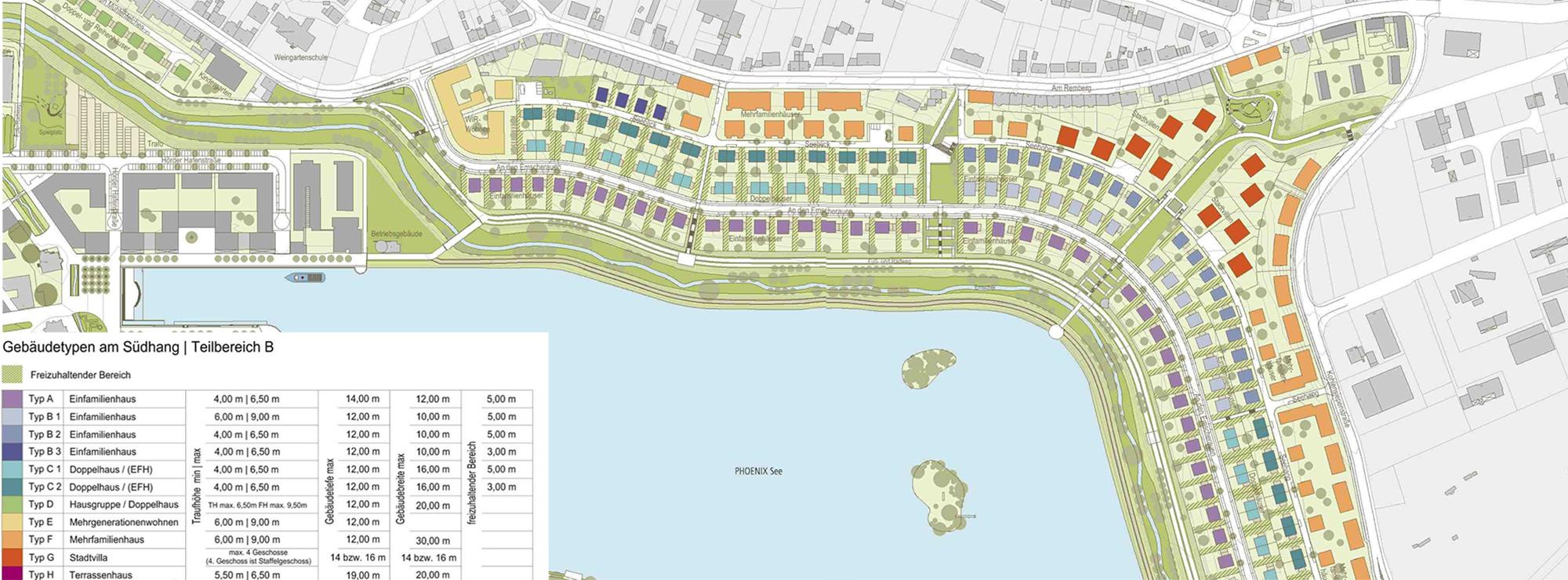 Qualitätsleitlinien Wohnen am PHOENIX See