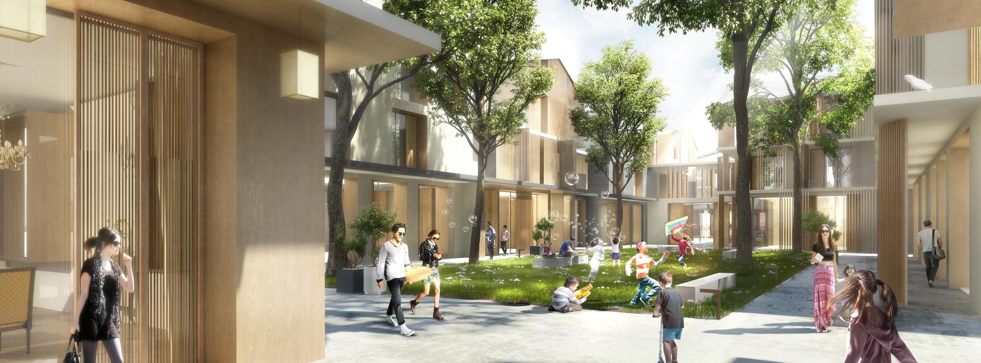 XionanDuanVillage_Stadtplanung_Wohnentwicklung, Gesellschaft,China