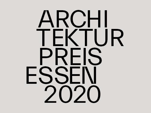 Architekturpreis Essen 2020_