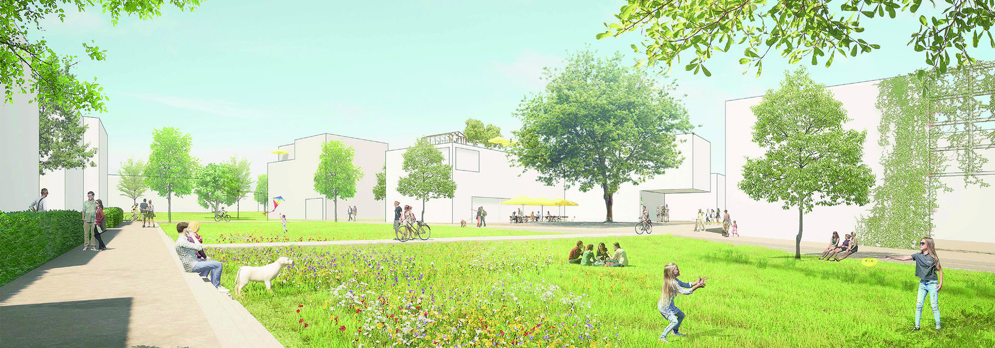 Reichenau_Lindenbühl West_Klimaanpassung_Wohnen_Quartiersentwicklung_Wettbewerb_PeschPartner