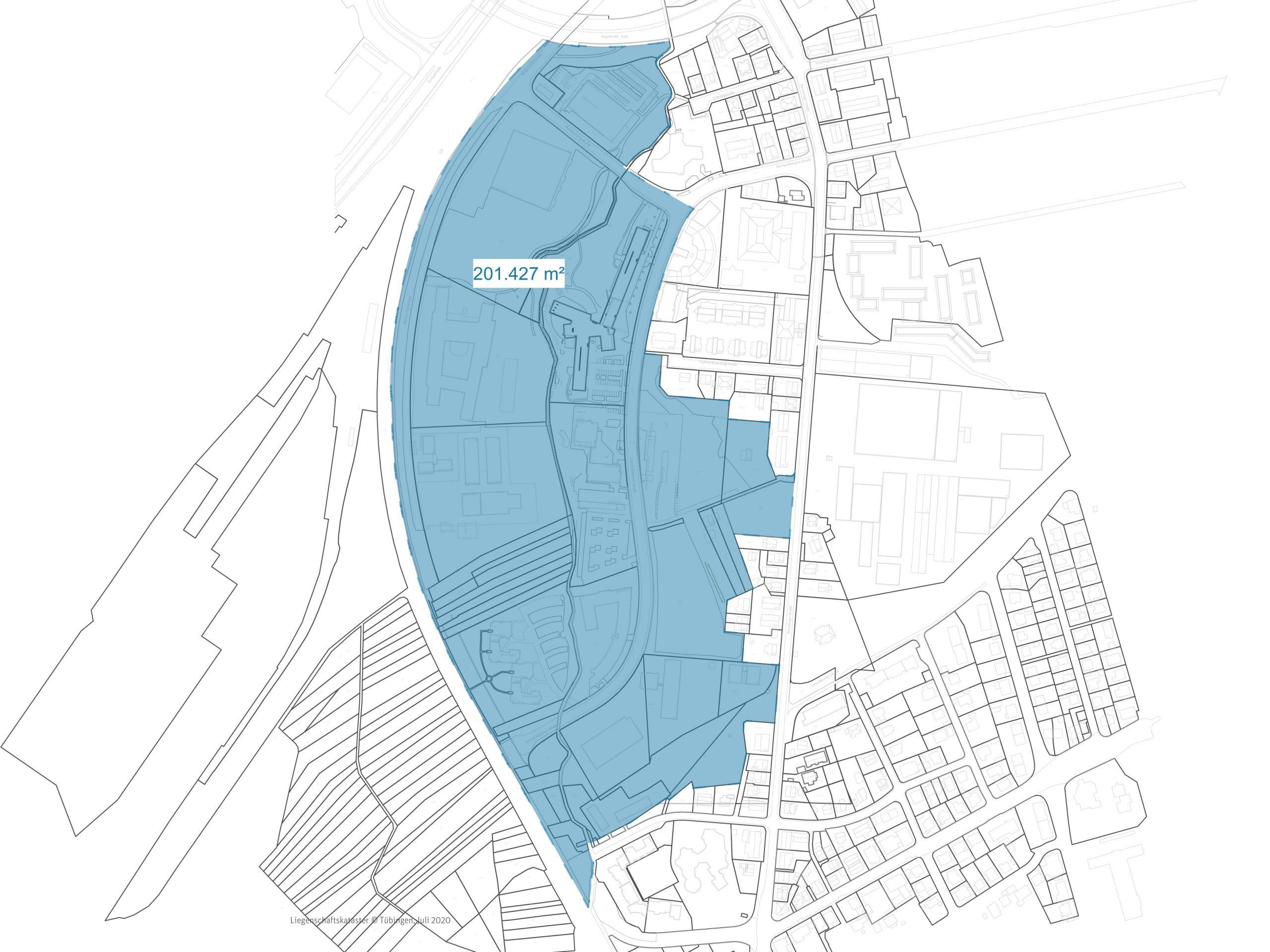 Universitätsstadt Tübingen, Quartiersentwicklung Mühlbachäcker, Einphasiger, nichtoffener, städtebaulicher Wettbewerb